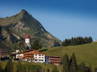 Urlaub Reisen  Österreich Vorarlberg Damüls Alpenhotel Mittagspitze