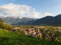 Urlaub Reisen  Italien Südtirol Schluderns