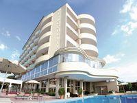 Urlaub Reisen  Italien Venetien Milano Marittima Hotel Metropolitan Beach