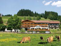 Urlaub Reisen  Deutschland Bayern Oberstdorf Hotel Sonnenbichl am Rotfischbach