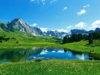Urlaub Reisen  Italien Südtirol Wolkenstein