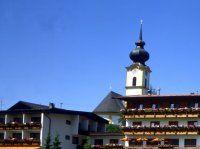 Urlaub Reisen  Österreich Tirol Söll Hotel Garni Schönblick