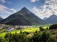 Urlaub Reisen  Österreich Tirol Galtür