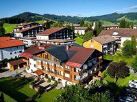 Urlaub Reisen  Deutschland Bayern Oberstaufen Hotel Königshof City Garni