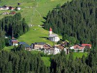Urlaub Reisen  Österreich Vorarlberg Damüls Hotel Adler