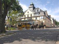 Urlaub Reisen  Deutschland Sachsen Oberwiesenthal Hotel Keilberg