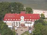 Urlaub Reisen  Polen Polnische Küste Hoff an der Ostsee (Trzęsacz) Hotel Jantar