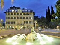 Urlaub Reisen  Italien Venetien Riva del Garda Grand Hotel Riva
